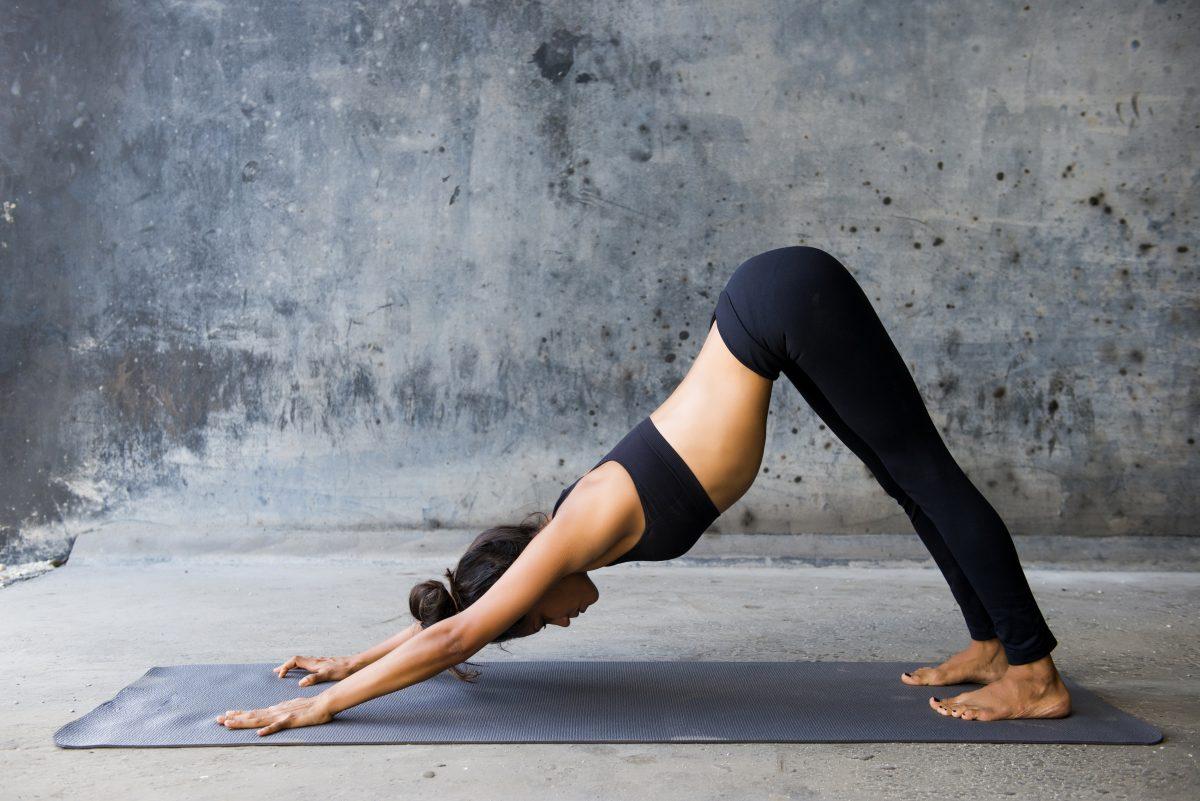 yoga workout header