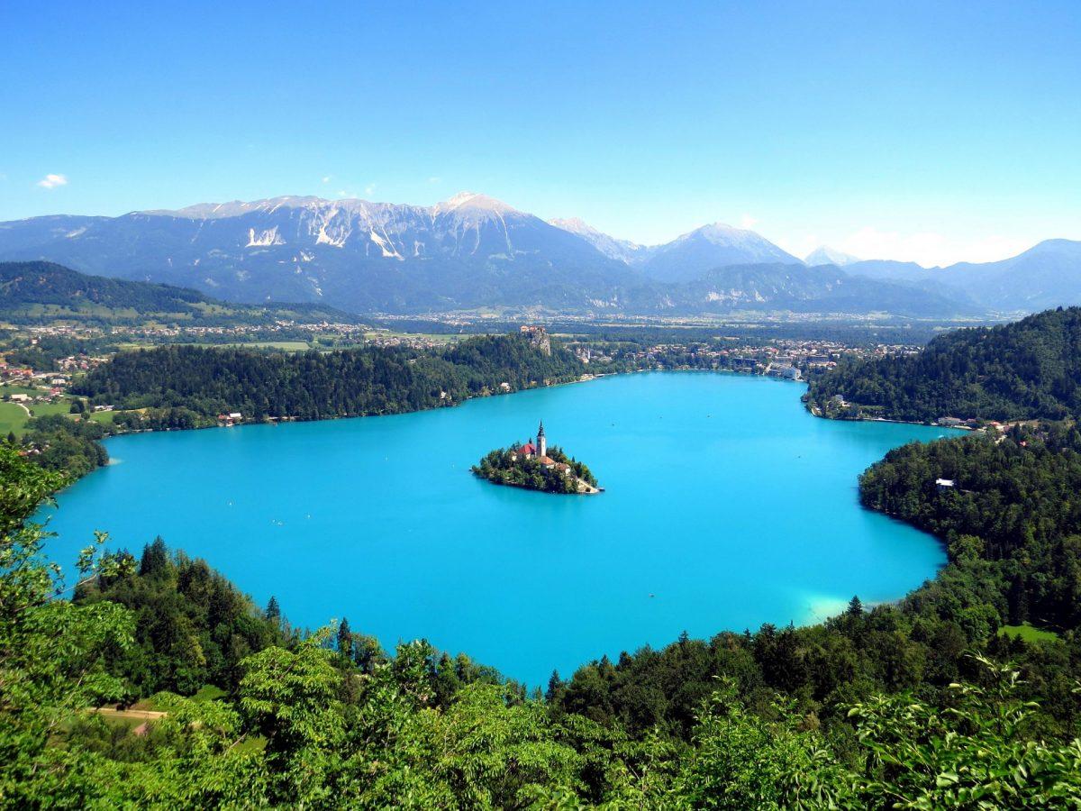 FEMFEM Meer van Bled Slovenie