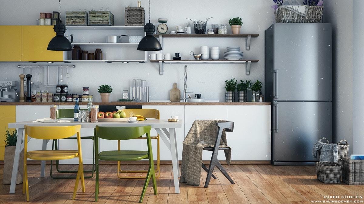 Inspiratie Aankleding Keuken : De allermooiste scandinavische keukens fem fem