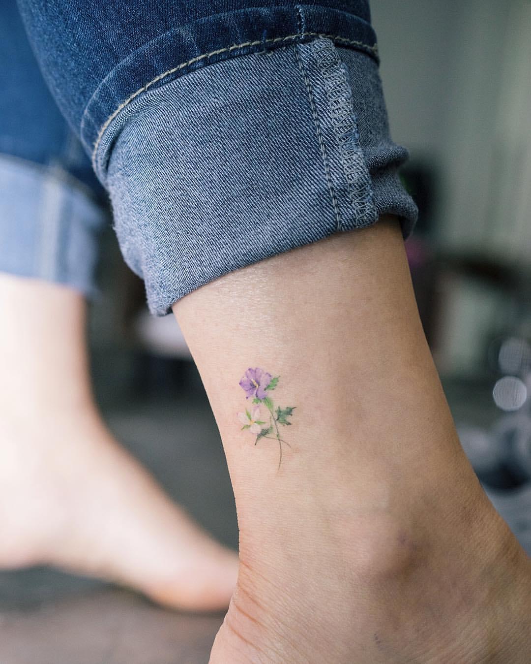 Laat Je Inspireren Door Deze Subtiele En Kleurrijke Tattoos Fem Fem