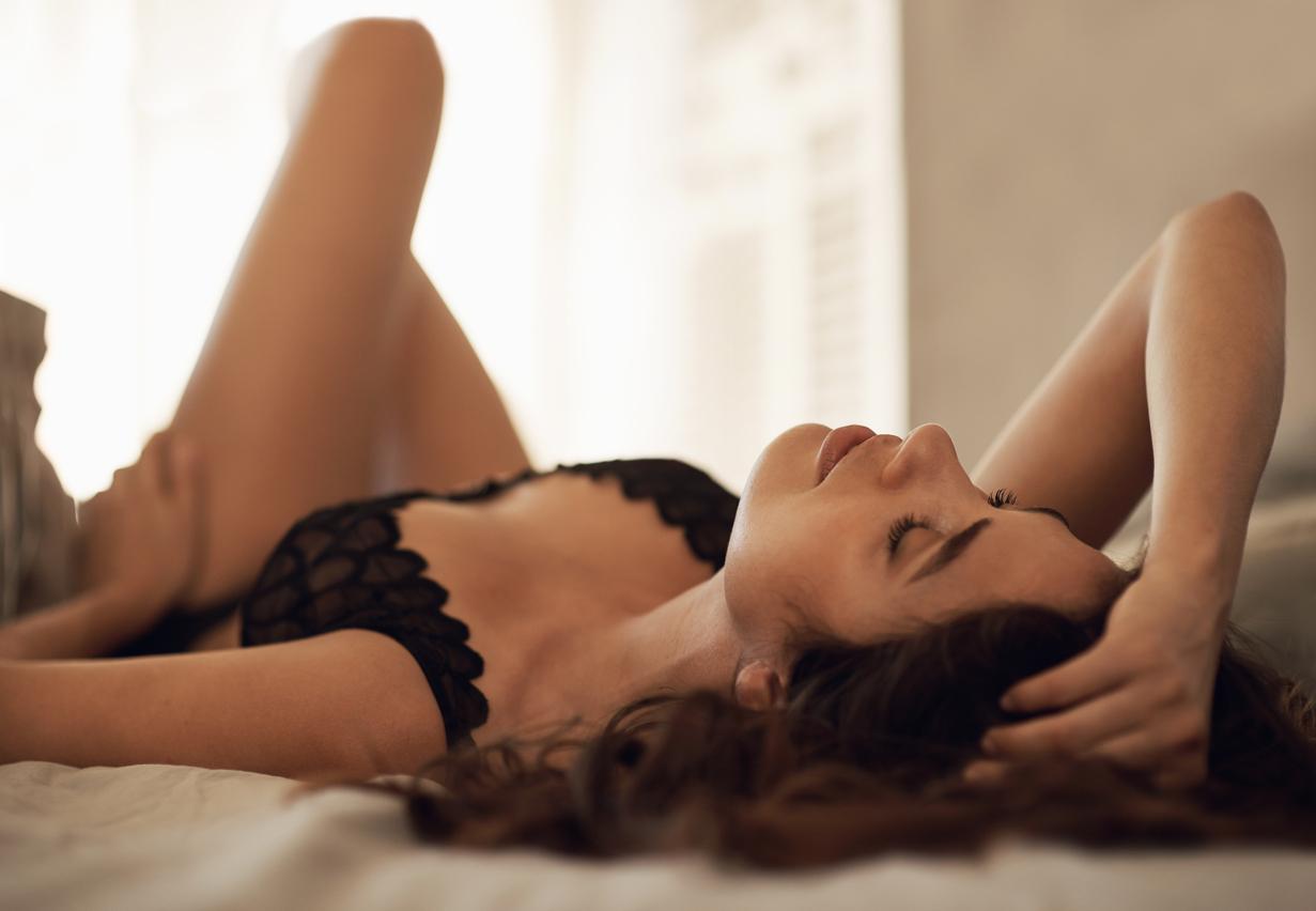 Vrouwen met lingerie