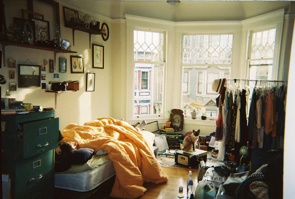 Apartment Living Room Men
