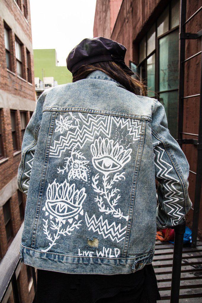 Zo Customize Je Jouw Denim Jacket Fem Fem