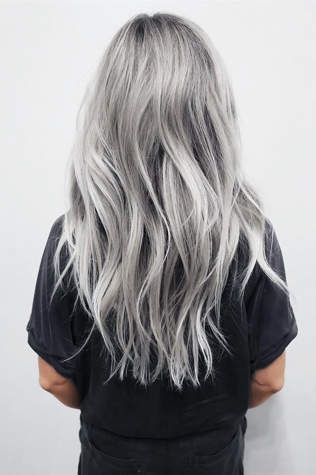 Dit zijn de beste blonde looks voor de herfst fem fem - Grijze kleur donkerder ...