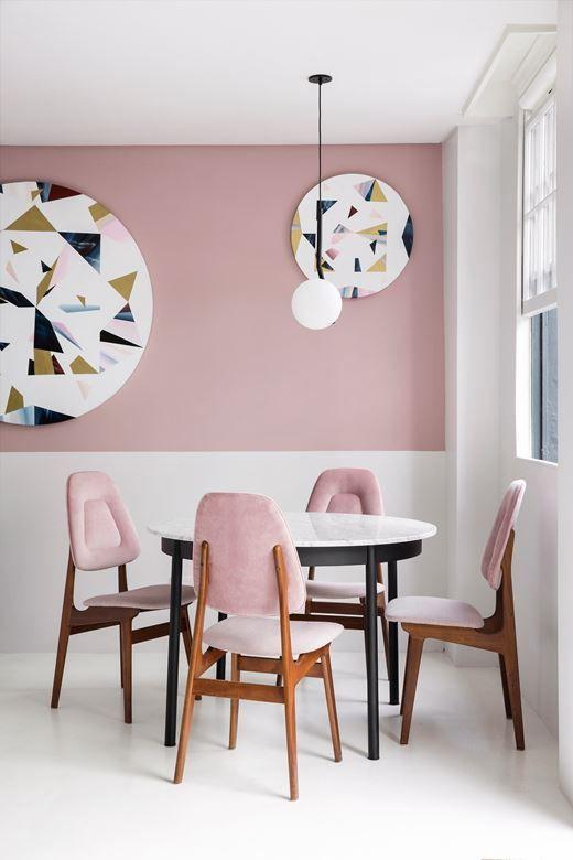 Inspiratie roze meubels maken je interieur compleet fem fem for Compleet interieur woonkamer