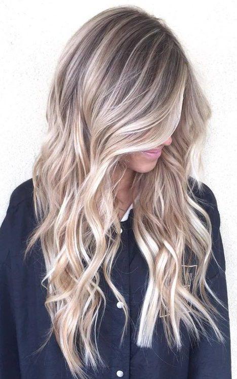 zilver blond haar