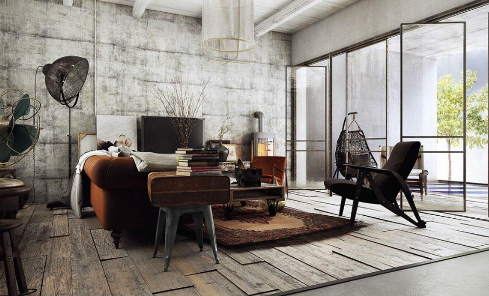 Inspiratie: de mooiste interieurs in de industriële stijl | FEM FEM