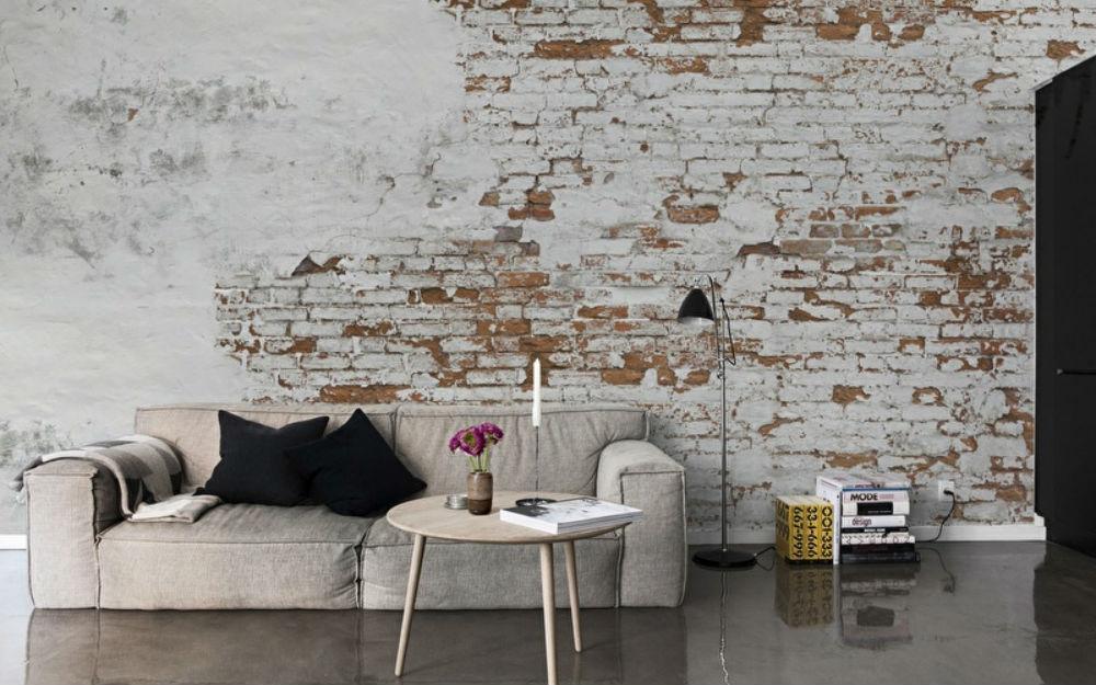 Foto Op De Muur.Inspiratie De Gaafste Bakstenen Muren In Huis Fem Fem