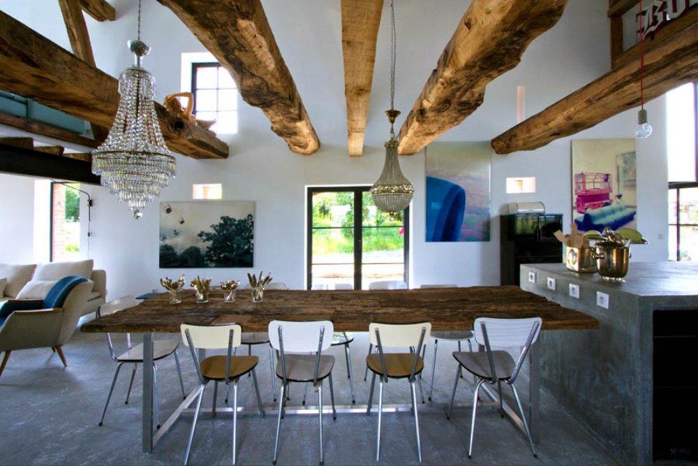 interieur hout femfem