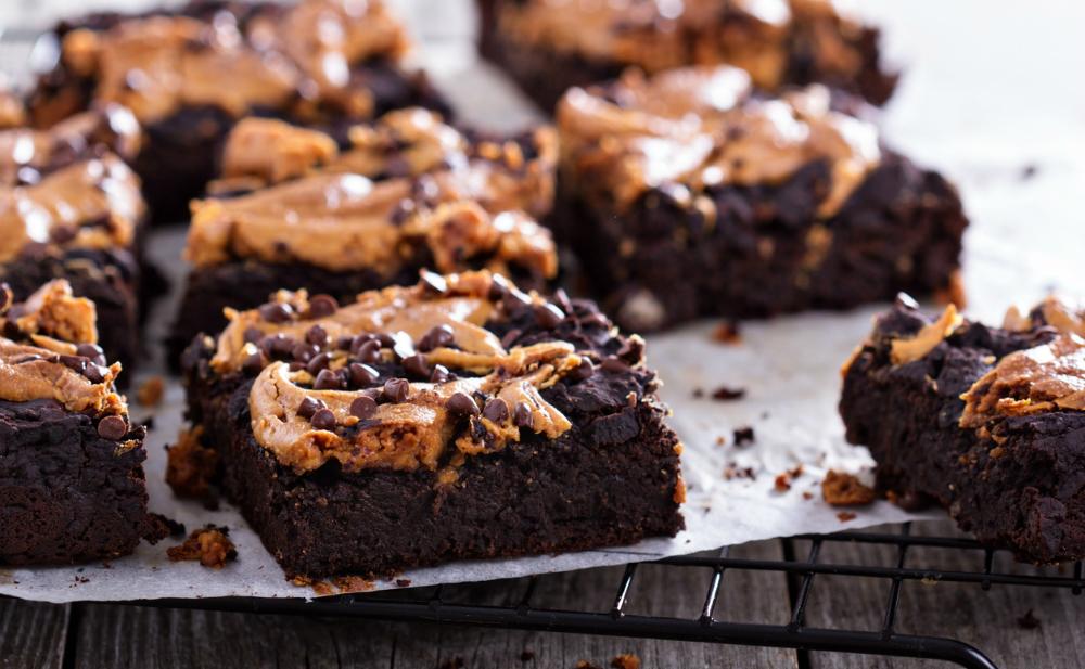 peanut butter fudge brownies femfem