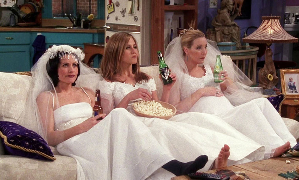 vrienden trouwen single