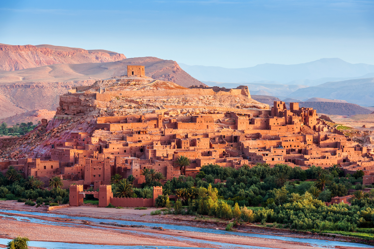 Aït Ben Haddou - Ancient city in Morocco North Africa