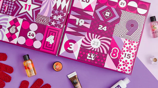 beauty adventskalender the body shop femfem