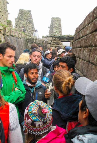 machu Picchu druk fem fem