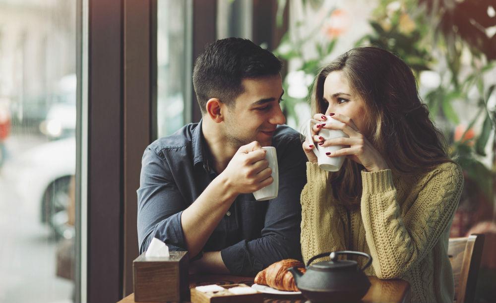 zoenen eerste date