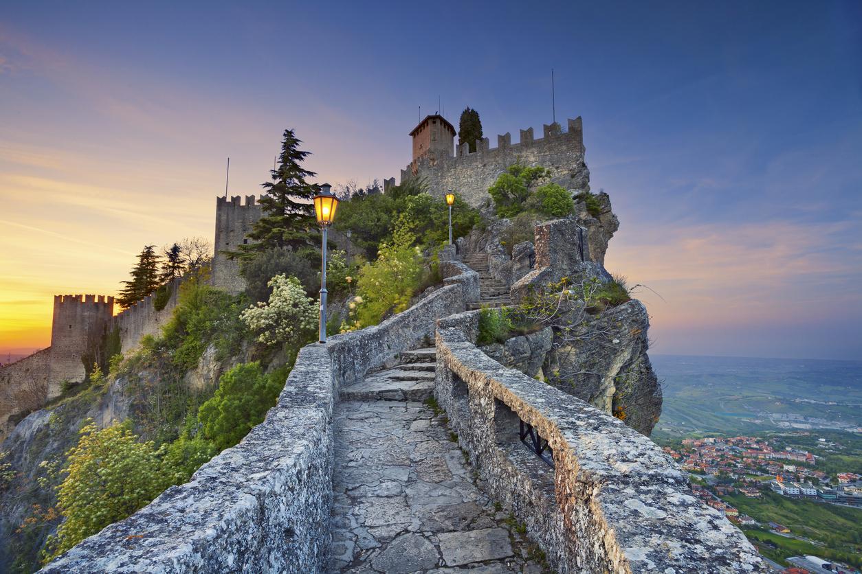 Rocca della Guaita fortress, San Marino.