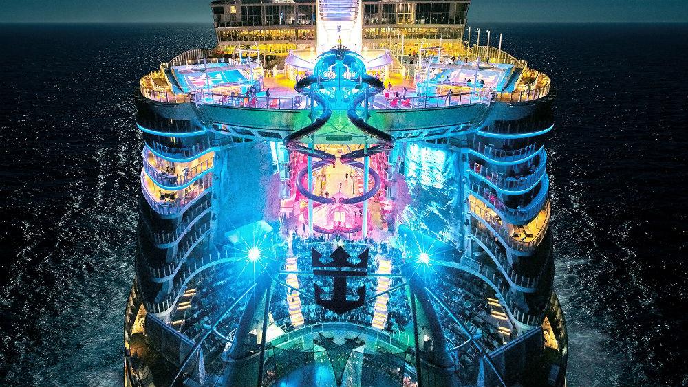 symphony of the Seas fem fem cruiseschip