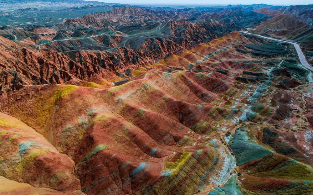 zhangye danxia nationaal geologisch park china femfem