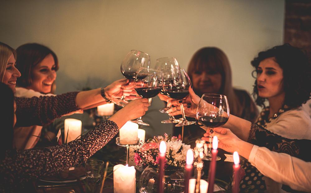 elke dag wijn drinken