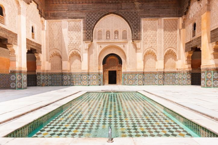 Madrassa Ali Ben Youssef Marrakech Morocco