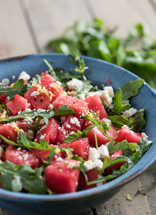 watermeloen salade FEM FEM