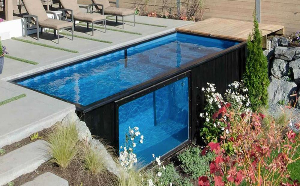 D toevoeging aan jouw achtertuin het containerzwembad for Zwembad aanschaffen