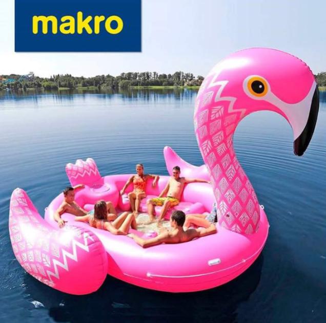 opblaasbare flamingo Makro FEM FEM