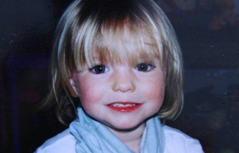 Beeld van Madeleine uit 2007 toen ze net werd vermist