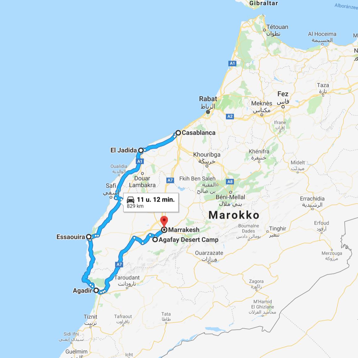 trip door marokko