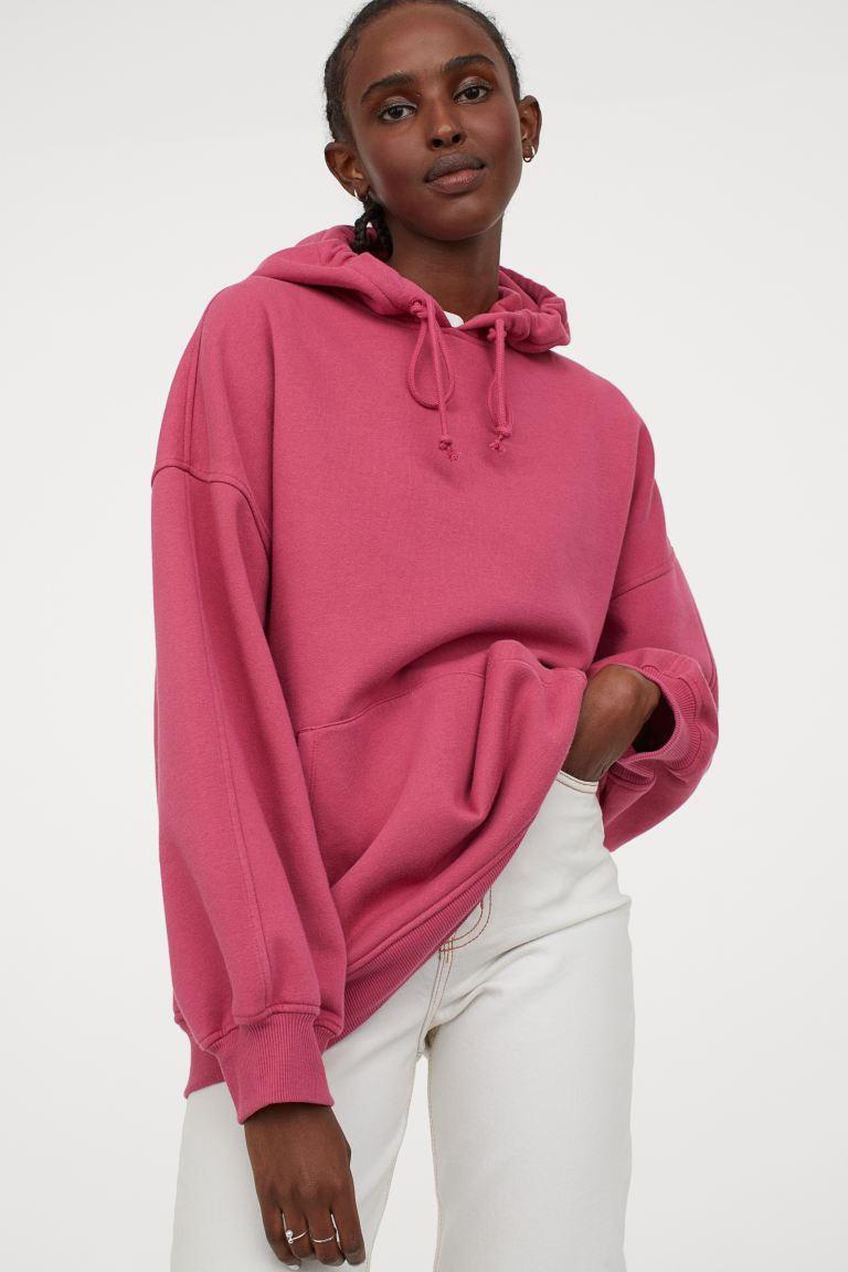 oversized capuchonsweater