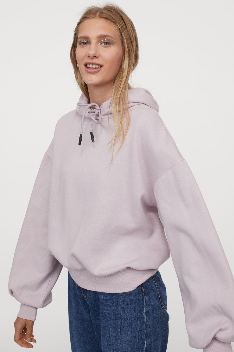 sweater met ballonmouwen