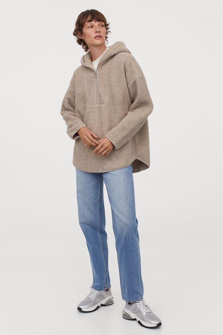teddy capuchonsweater