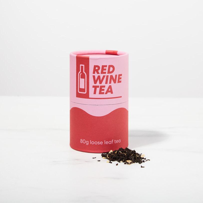 Rode wijn thee