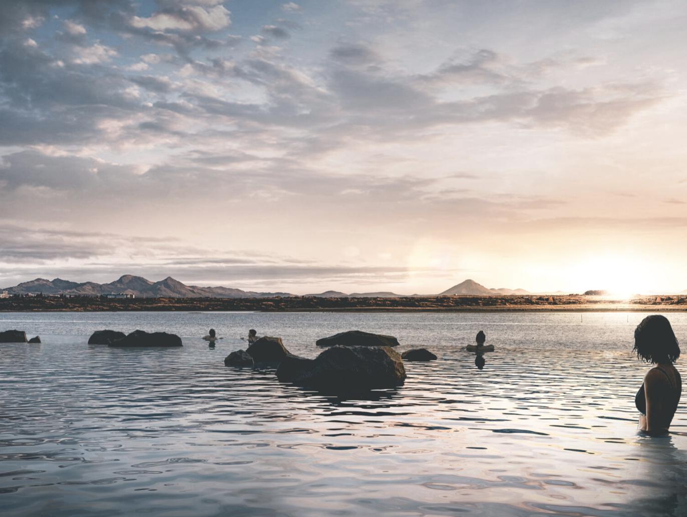 sky lagoon ijsland