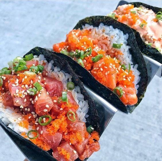 sushi taco's fem fem
