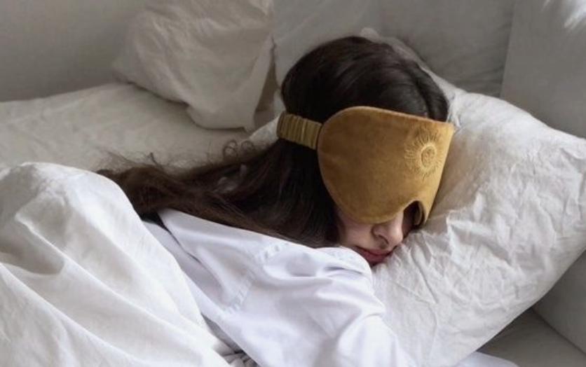 meisje slaapmasker