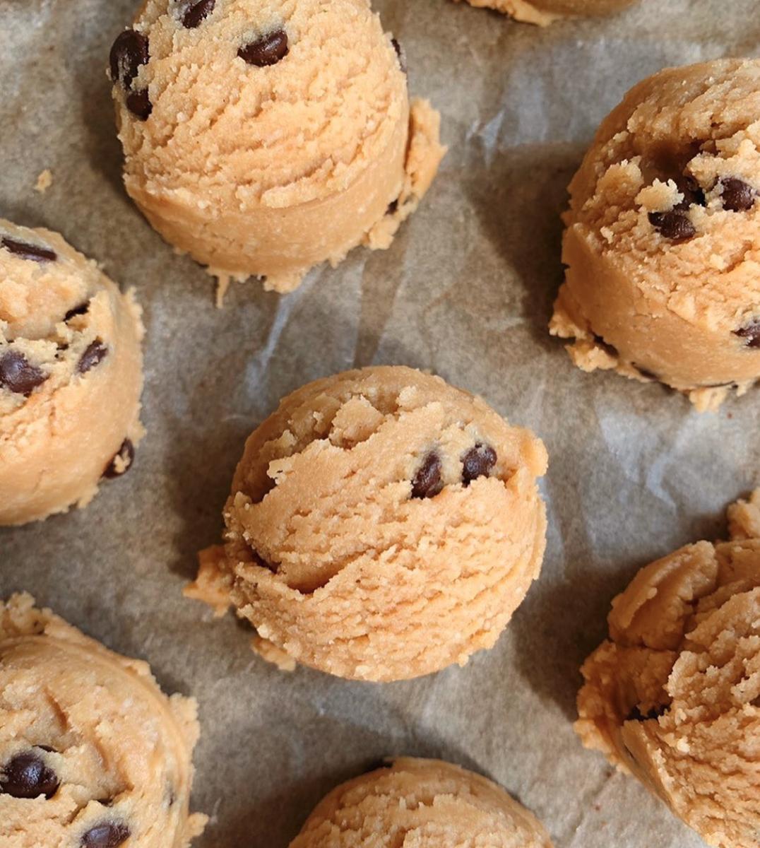gezond koekjesdeeg
