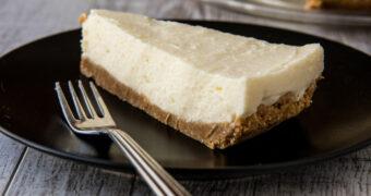 Het gezonde alternatief: cheesecake met minder suiker