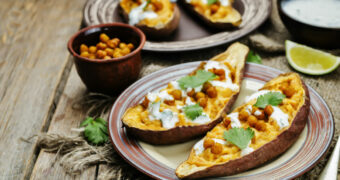 Gevulde zoete aardappel: ons nieuwe favoriete kostje