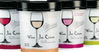 Het beste van twee werelden: wijnijs
