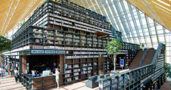 De boekenberg in Spijkenisse is een waar paradijs voor de boekenwurm
