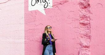 Deze roze muur in Rotterdam is speciaal gemaakt voor de perfecte Instagramfoto
