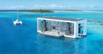 Plannen voor de toekomst: drijvende huizen om stormen te overleven