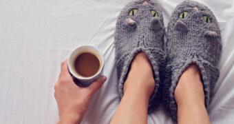 Onderzoek: pantoffels op werk maken je productiever