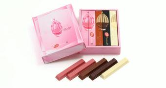 Dit wil je zien: KitKat komt met een roze chocoladereep