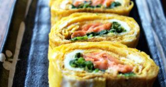 Sunday brunch recept: omelet wraps met zalm en avocado