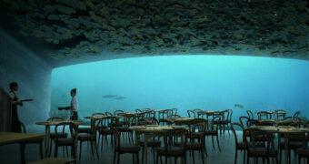 Het eerste onderwaterrestaurant van Europa opent binnenkort haar deuren
