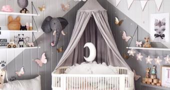 Inspiratie: zo tover jij de babykamer om tot een paleisje