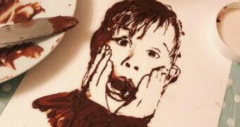 Deze man maakt ongelofelijke kunstwerken van Nutella