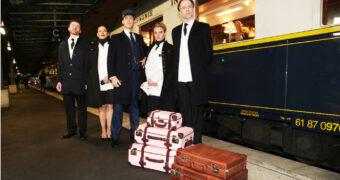 Wij mochten mee met de Orient Express en waanden ons in de film